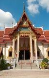 buddhistic tempel thailand Royaltyfria Bilder
