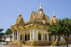Buddhistic temple stock photo