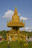 Buddhistic temple in Cambodia. Stock Photo