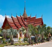Buddhistic temple in Thailand Royalty Free Stock Image