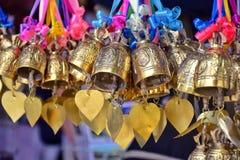 Buddhistisch unterzeichnen Sie herein Tempel von Thailand lizenzfreies stockbild
