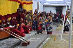 Buddhistische Feier Stockbild