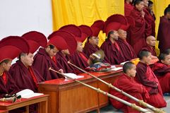 Buddhistische Feier Stockfotografie