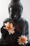 Buddhistische Freude stockfotos