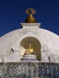 Buddhistische Friedenspagode stockbild
