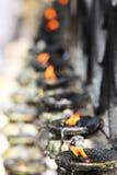 Buddhistische Gebetlampen Lizenzfreies Stockfoto