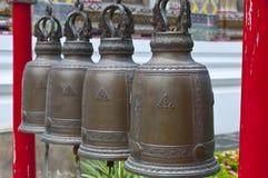 Buddhistische Glocken Stockfoto