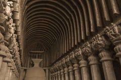 Buddhistische Höhle/Tempel Stockbilder