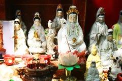 Buddhistische Idole lizenzfreies stockfoto
