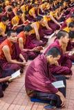 Buddhistische Mönche Stockfotos