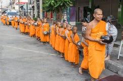 Buddhistische Mönche Lizenzfreie Stockfotografie