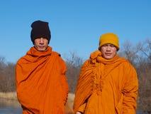 Buddhistische Mönche Lizenzfreie Stockbilder