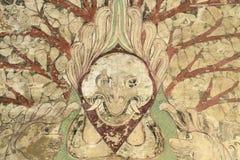 Buddhistische Malereien Lizenzfreies Stockfoto