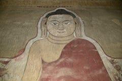 Buddhistische Malereien Stockfotografie