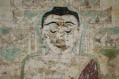Buddhistische Malereien Stockbild