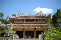 Buddhistische Pagode in Nha Trang, Vietnam Stockbild