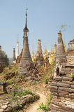 Buddhistische Pagoden Stockfoto