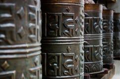Buddhistische Rollen Lizenzfreies Stockbild
