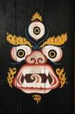 Buddhistische Schablone Lizenzfreies Stockfoto