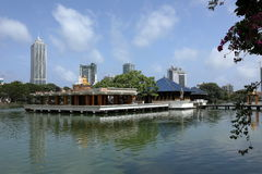 Buddhistische Seema Malaka von Colombo in Sri Lanka stockfotos