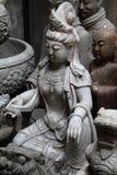 Buddhistische Skulptur Stockfotos