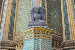 Buddhistische Skulptur thailändisch Lizenzfreie Stockfotografie
