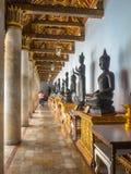 Buddhistische Statue im Marmortempel, Bangkok Thailand Lizenzfreie Stockfotografie