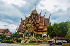 Buddhistische Tempel um Samui-Insel, Thailand stockfoto