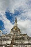 Buddhistische Tempel von Ayuthaya, Thailand Stockbild