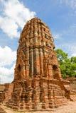 Buddhistische Tempel von Ayuthaya, Thailand Lizenzfreies Stockbild