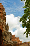 Buddhistische Tempel von Ayuthaya, Thailand Stockfotografie
