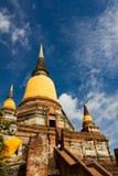 Buddhistische Tempel von Ayuthaya, Thailand Lizenzfreie Stockbilder