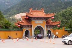 Buddhistischer Jintai-Tempel Stockbilder