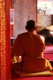 Buddhistischer Mönch Lizenzfreie Stockfotografie
