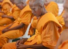 Buddhistischer Mönch in Thailand lizenzfreies stockbild