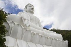 Buddhistischer Markstein von Thailand-Geschichte Stockfotos