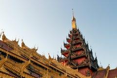 Buddhistischer Tempel stockbild