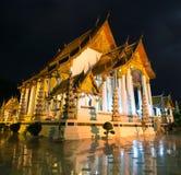 Buddhistischer Tempel in Bangkok Stockfotos