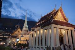 Buddhistischer Tempel in Bangkok, Thailand Lizenzfreie Stockfotos