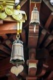 Buddhistischer Tempel Bell - Jing An Tranquility Temple - Shanghai, China lizenzfreie stockfotos