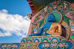 Buddhistischer Tempel Chagdud Gonpa, Gramado Brasilien lizenzfreie stockbilder