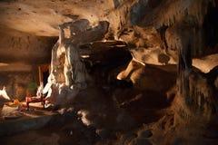 Buddhistischer Tempel der Höhle Lizenzfreies Stockbild