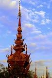 Buddhistischer Tempel in der Nordprovinz von Thailand Stockbilder