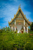 Buddhistischer Tempel des großen Palastes in Bangkok, Thailand Stockfotos