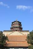 Buddhistischer Tempel des Peking-Sommerpalastes Stockfotos