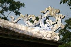 Buddhistischer Tempel - Farbe - Vietnam Lizenzfreie Stockfotos