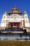 Buddhistischer Tempel goldener Wohnsitz von Buddha Shakyamuni Elista, Republik von Kalmückien, Russland Stockfotos