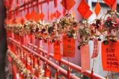 Buddhistischer Tempel in Macao in China lizenzfreie stockbilder