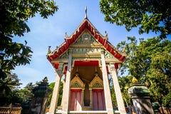 Buddhistischer Tempel in Saraburi, Thailand Lizenzfreies Stockbild