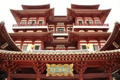 Buddhistischer Tempel in Singapur stockfoto